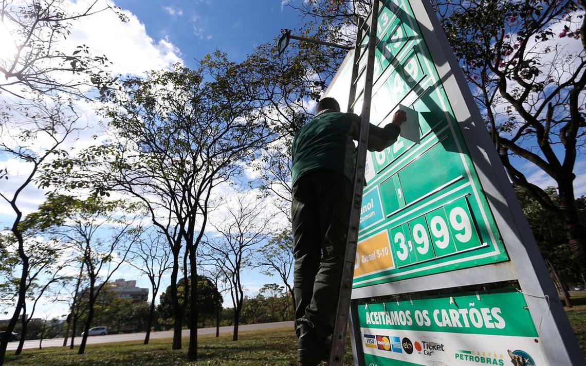 Redução do óleo diesel