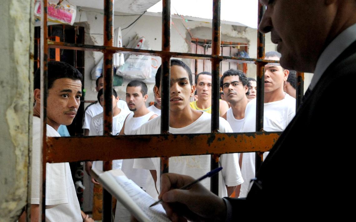 Inspeção carcerária em mutirão do COnselho Nacional de Justiça