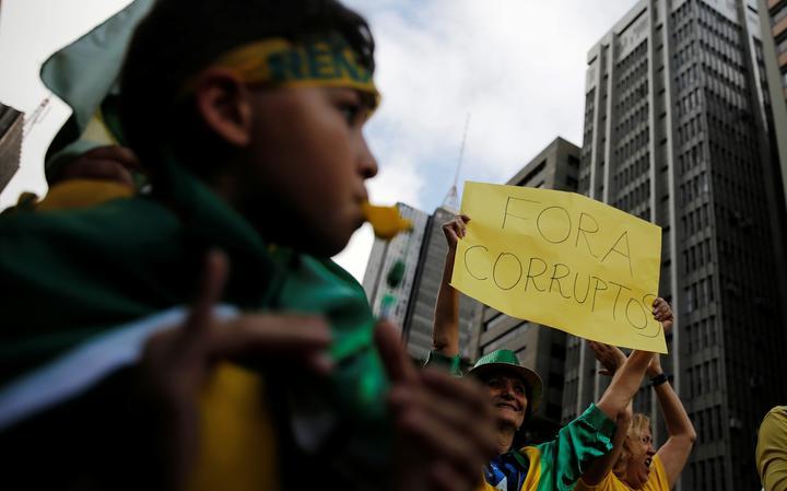 Protesto realizado em 4 de dezembro de 2016 em São Paulo