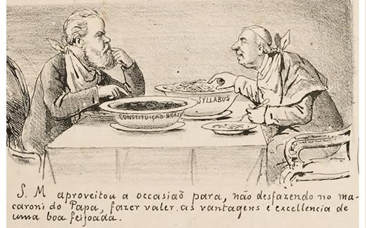 Papa e dom Pedro