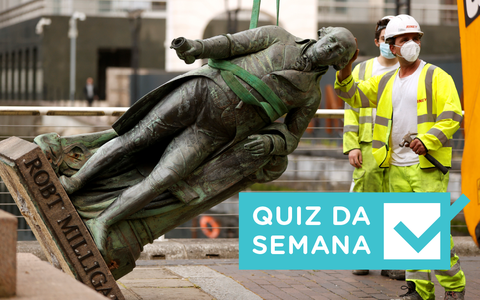 Estátuas de racistas, projeções econômicas: entendeu a semana?