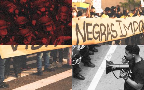 A violência e o racismo estrutural, nítidos e contestados