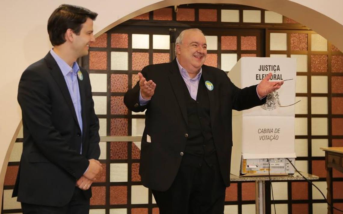 Rafael Greca, prefeito eleito de Curitiba