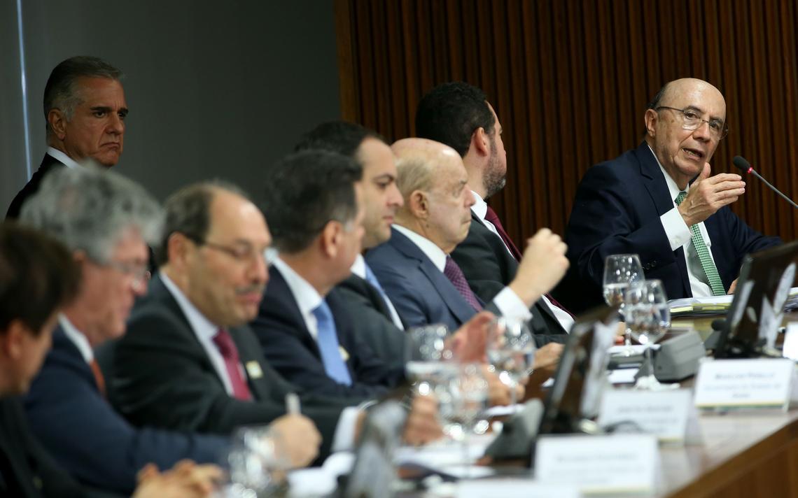 Reunião em Brasília discute crise financeira dos Estados
