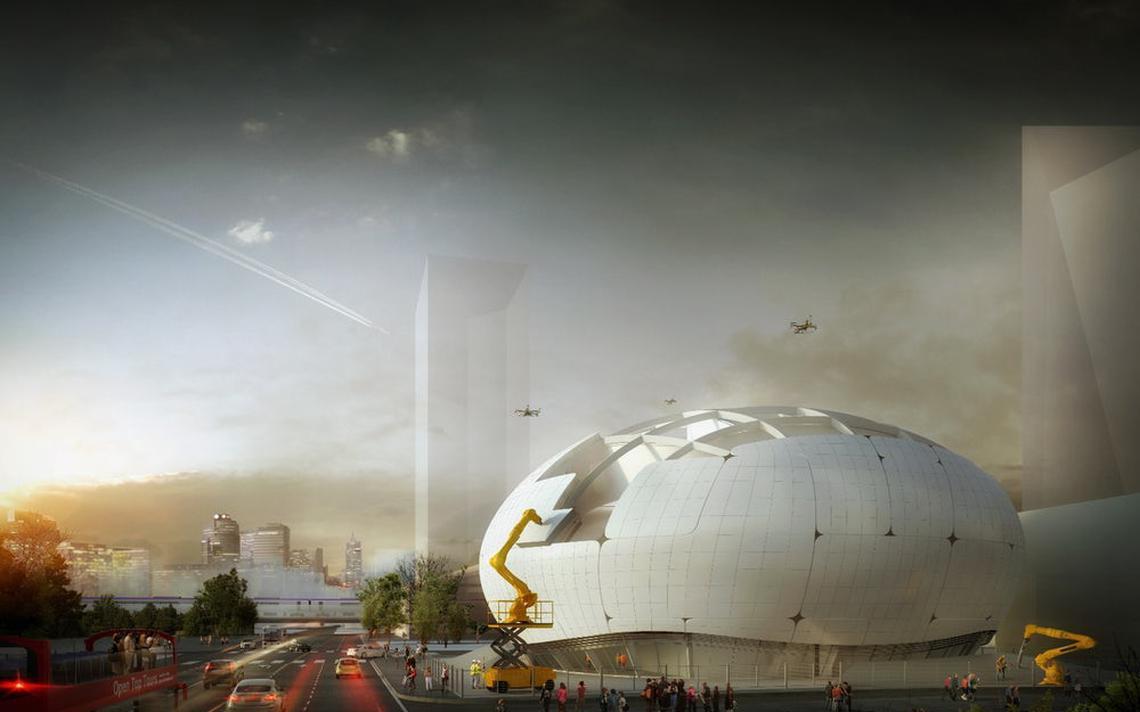 Projeto de design do Museu da Ciência Robótica, na Coreia do Sul