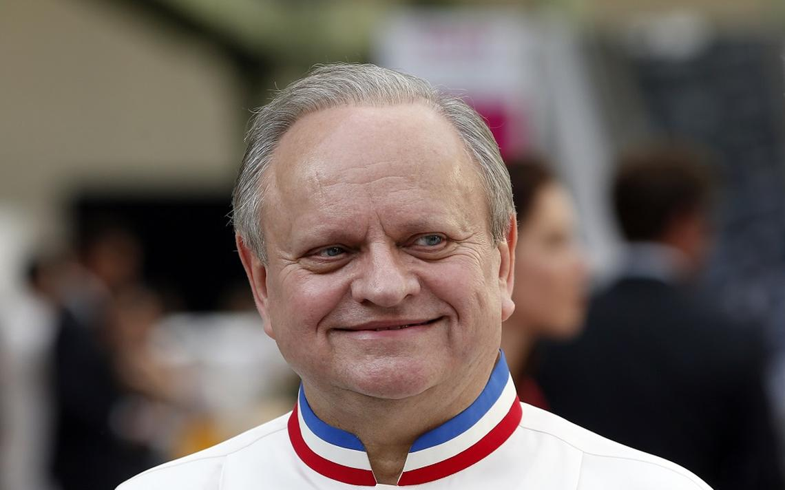 French Chef Joël Robuchon attends the opening of the Taste Festival at the Grand Palais in Paris, em 2015