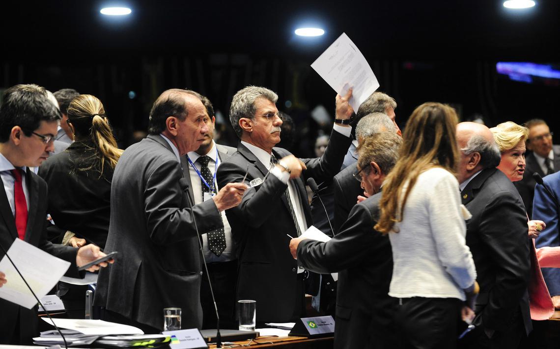 Líder do governo no Congresso, senador Romero Jucá