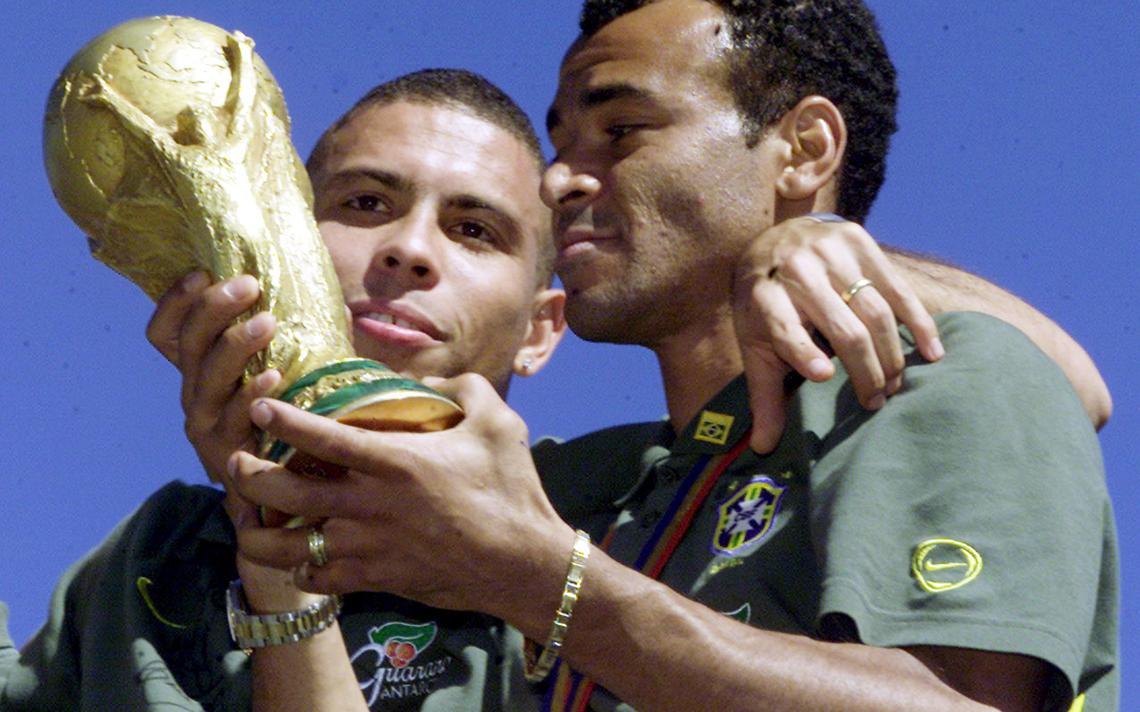 Brasil foi campeão da Copa do Mundo de 2002
