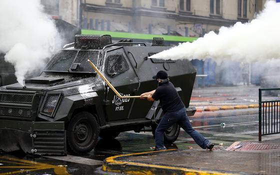 4 países em que o 1º de Maio foi dia de choque com a polícia