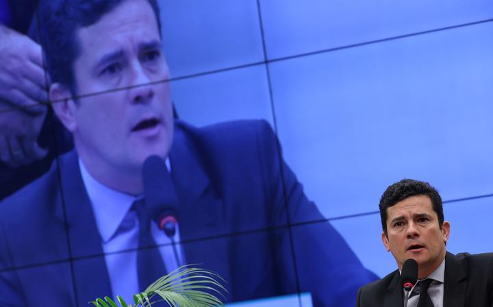 Sérgio Moro participa de audiência na Câmara dos Deputados