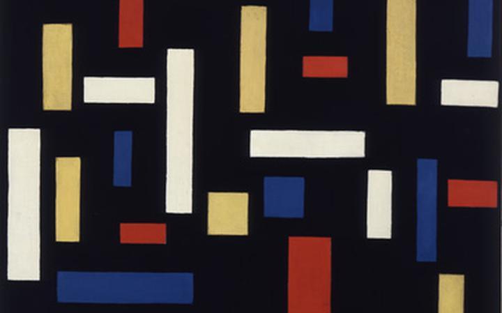 Composição VII (As Três Graças), de Theo van Doesburg