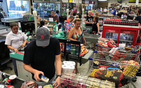 O desempenho do setor de supermercados em meio à crise