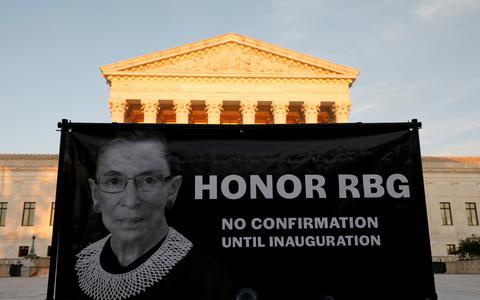Como a sucessão na Suprema Corte tensiona a eleição nos EUA
