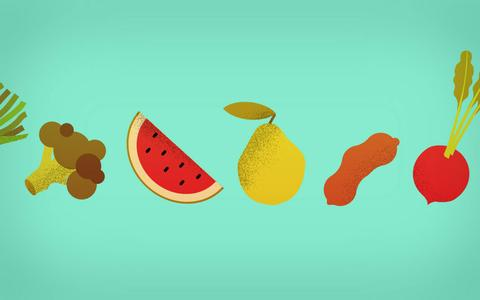 Escolha o alimento pela estação e faça a melhor feira possível