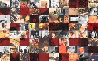 Mosaico de imagens que mostram os maiores acontecimentos do ano de 2020
