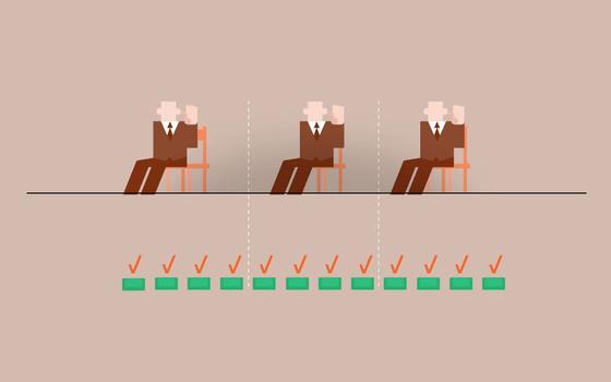 O peso dos partidos na eleição de vereadores e deputados
