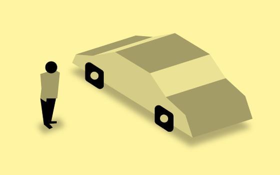 A proporção de habitantes por carro nas capitais