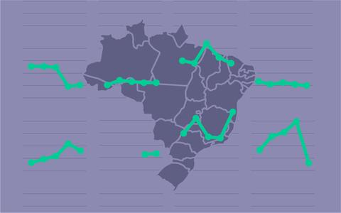 A evolução do poder dos partidos nas cidades brasileiras