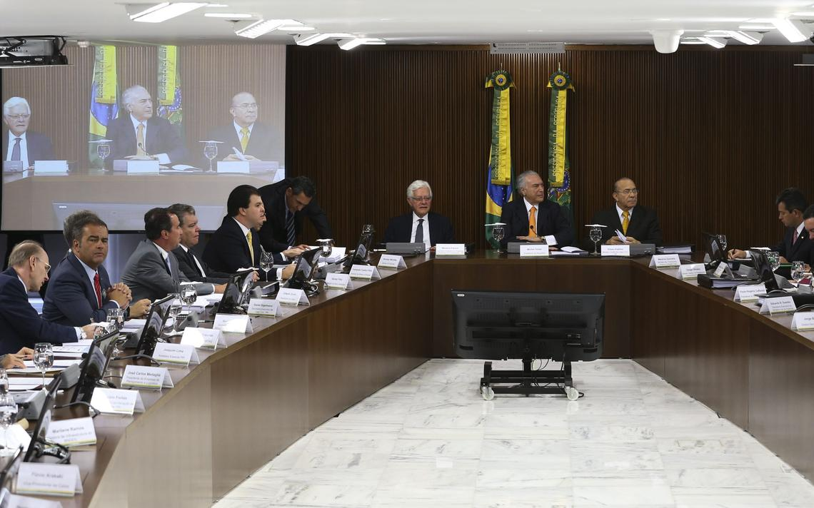 Reunião no Palácio do Planalto