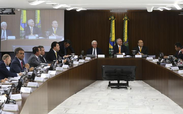 Reunião no Palácio do Planalto