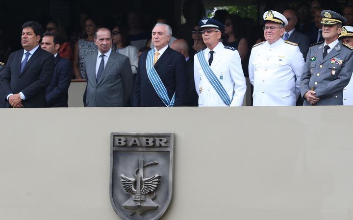 Presidente em comemoração do dia do aviador