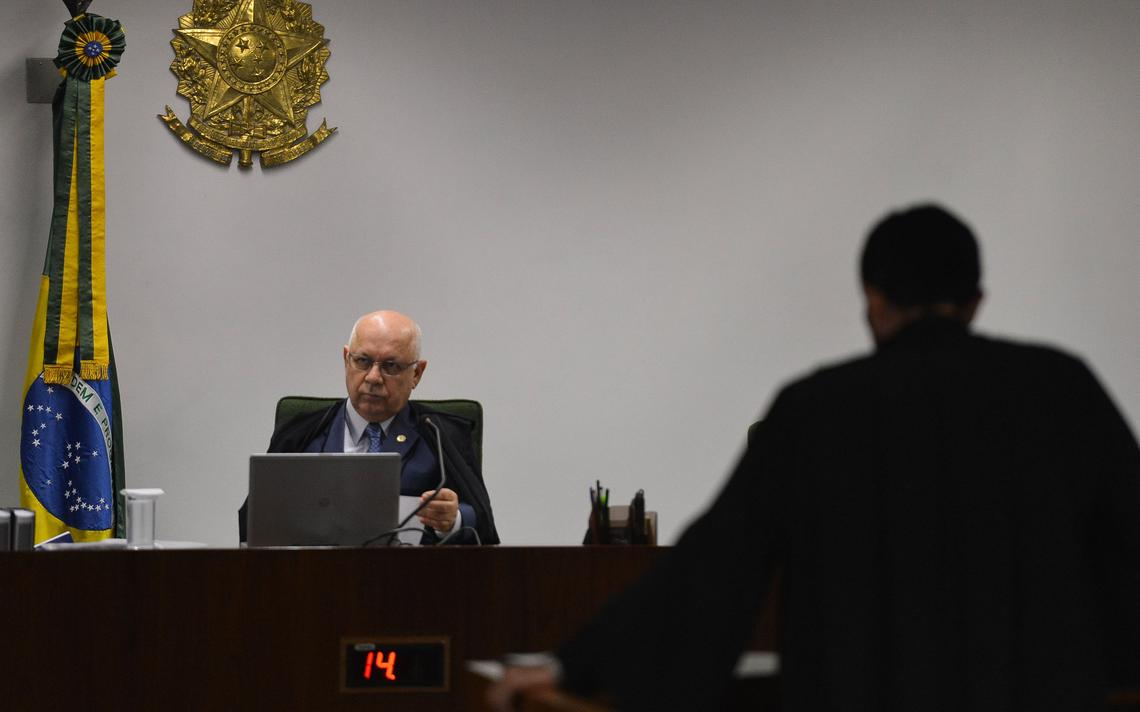 Teori Zavascki preside sessão da Segunda Turma do Supremo Tribunal Federal