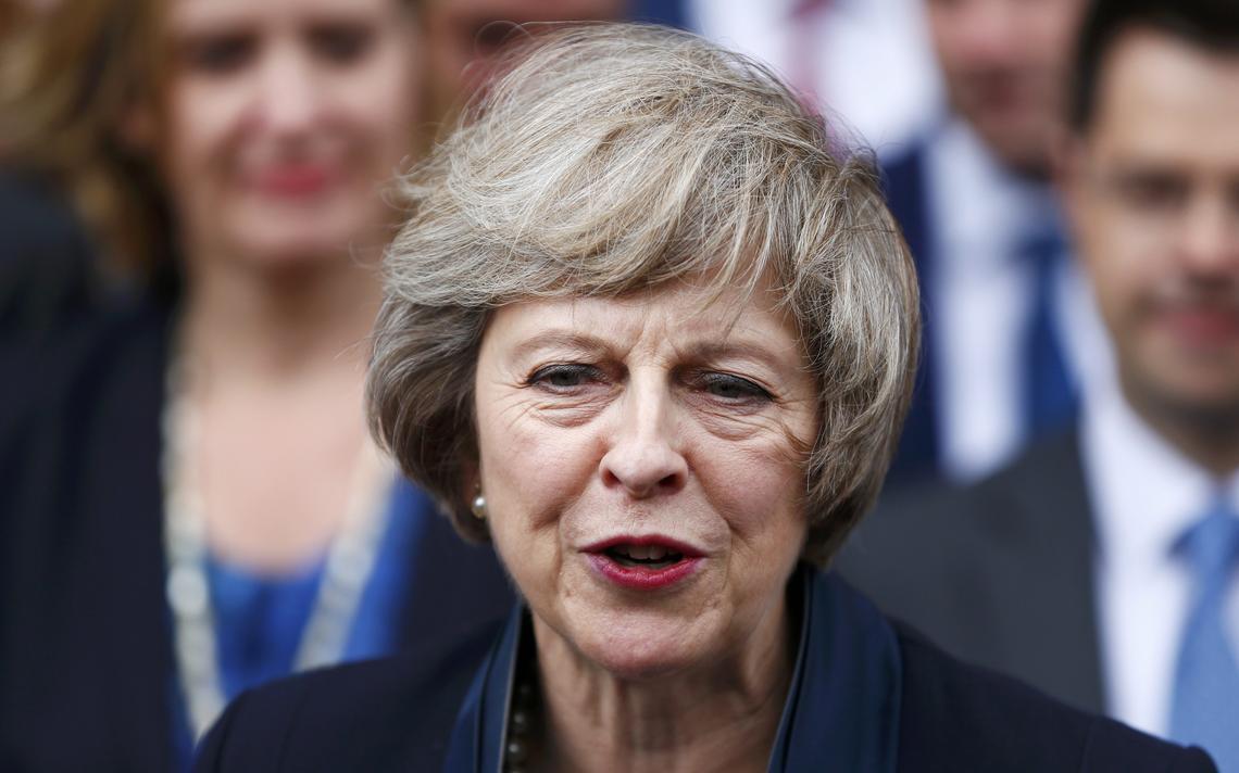 Ela será a primeira mulher a tornar-se primeira-ministra no Reino Unido desde Margaret Tatcher