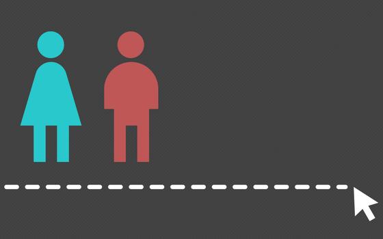A renda de mulheres e homens conforme a escolaridade