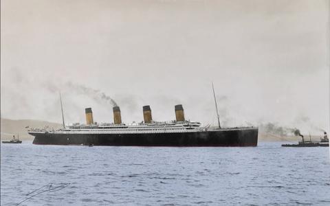 As únicas filmagens do Titanic, agora em 4K e cores