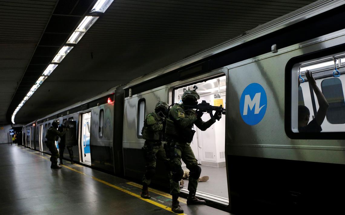 Grupo especial recebeu ajuda de forças francesas em operação