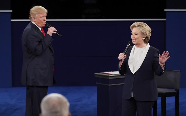 Dois principais candidatos à Casa Branca