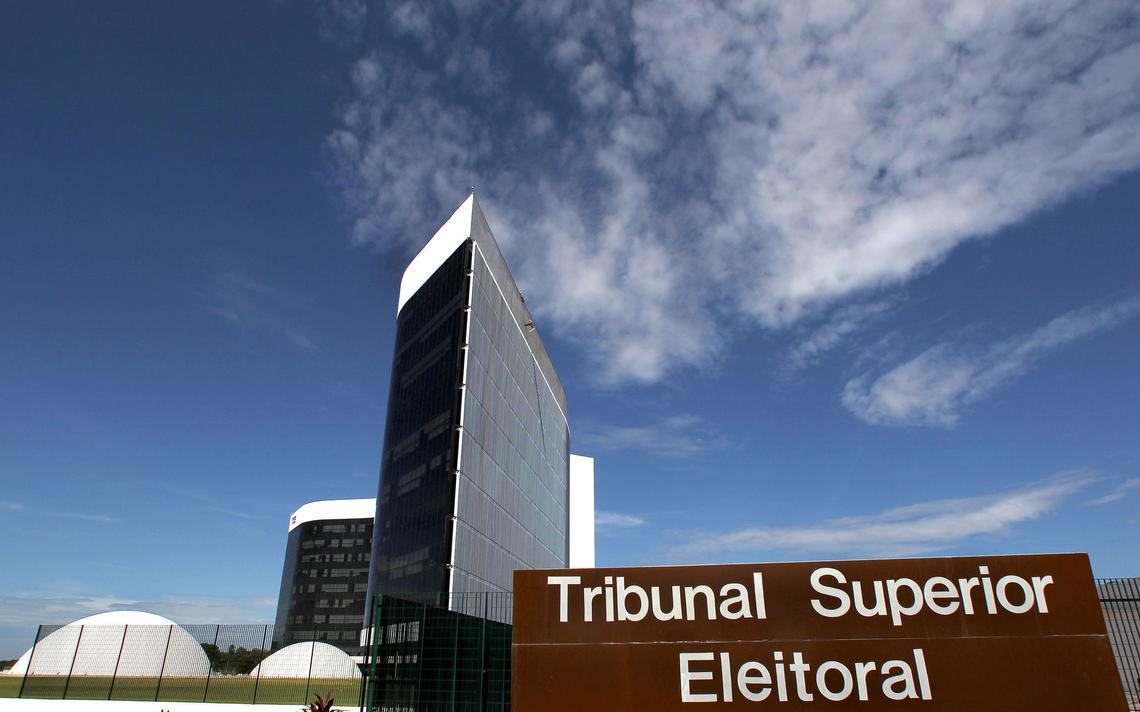 Fachada do Tribunal Superior Eleitoral, em Brasília