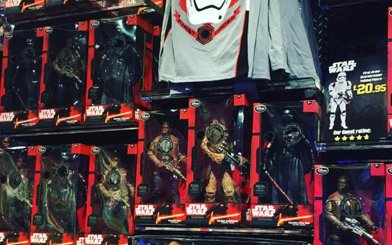 Por que a heroína ficou de fora das caixas de bonecos de Star Wars