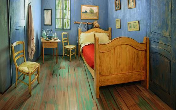 É possível se hospedar dentro de uma pintura de Van Gogh por R$ 40