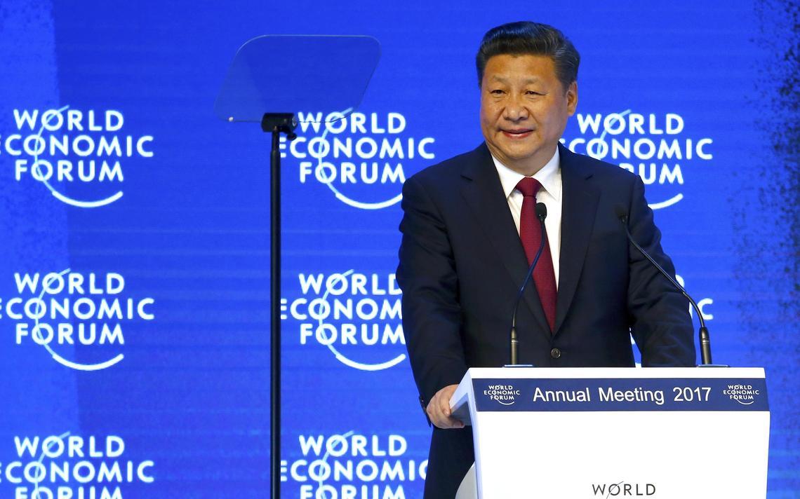 Xi Jinping discursa na abertura do Fórum Econômico Mundial de 2017