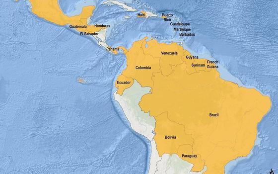 O mundo está preocupado com o zika. Quais são as áreas de risco