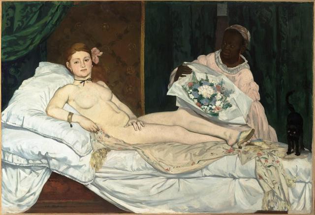 Olympia, pintura de Édouard Manet (1863)