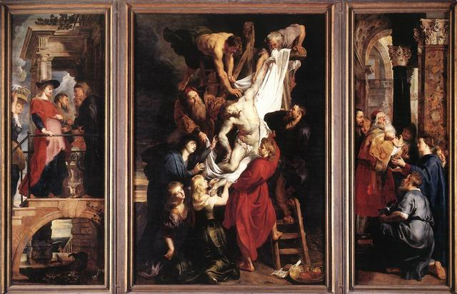 'The Descent from the Cross' (1614), de Peter Paul Rubens
