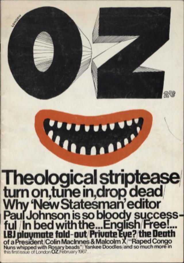 Capa da OZ de janeiro de 1967