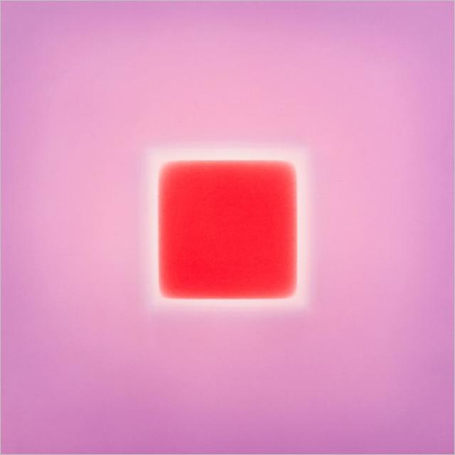Uma das obras expostas em 'Brian Eno. Ambient Paintings'