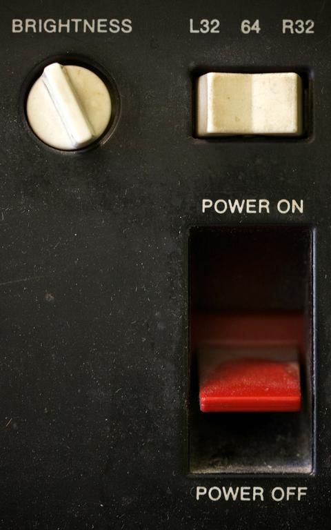 Botão 'switch' para ligar e desligar