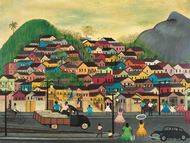 'Morro da Mangueira' (1965), de Heitor dos Prazeres