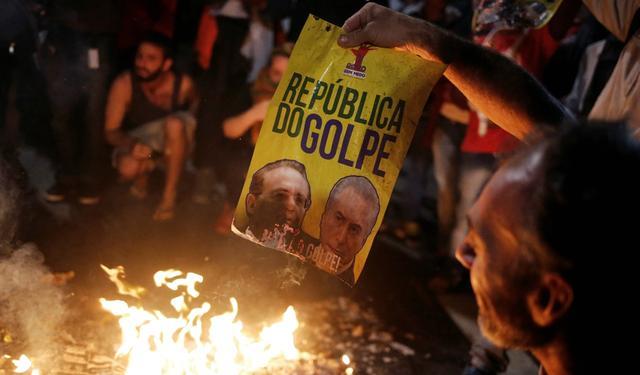 Militantes pró-Dilma protestaram em 2016 contra processo que levou ao impeachment da presidente