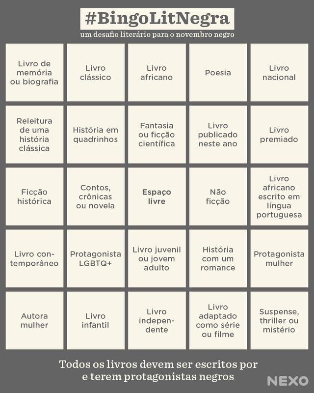 bingo literatura negra