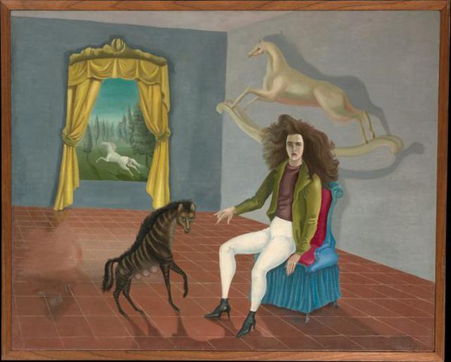 """Self-Portrait"", Leonora Carrington (1937–38)"
