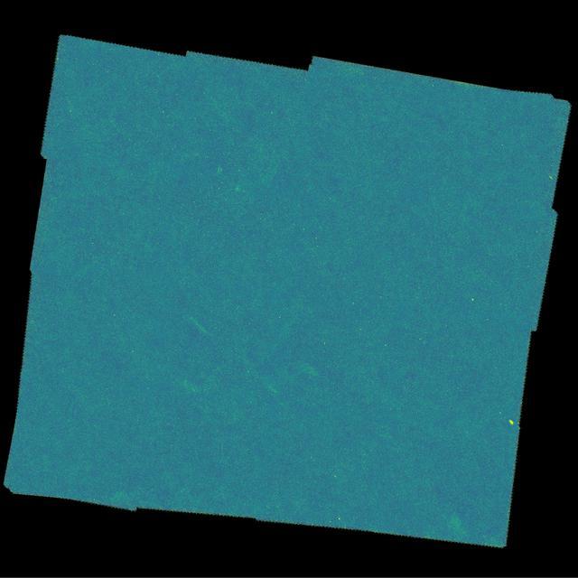 Cada um dos pontos da imagem representa uma galáxia