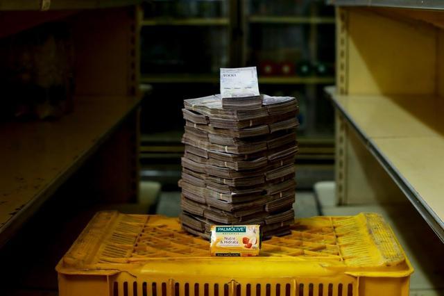 Por uma único sabonete, venezuelanos pagavam 3,5 milhões de bolívares (US$ 0,53 ou R$ 2,15) na semana passada