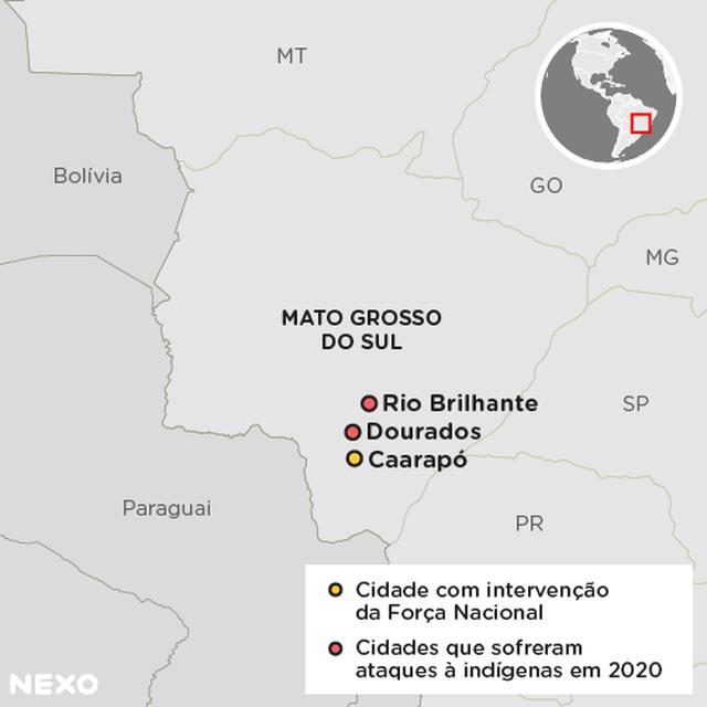 Ataques Mato Grosso do Sul