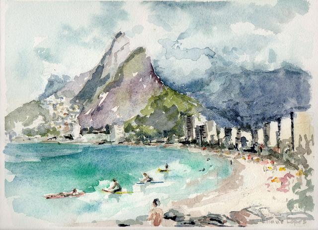 Vista do Arpoador no Rio de Janeiro, por Eliane Lopes
