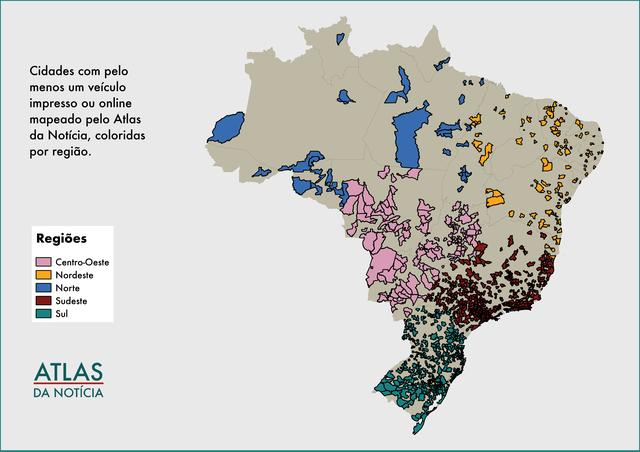 Mapa deserto de notícias, Atlas da Notícia